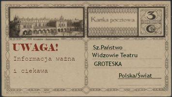 Smok Groteski na Targach Książki w Krakowie - 16.10.2021