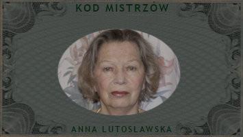 KOD MISTRZÓW - Anna Lutosławska-Jaworska 05.10.2021 - relacja ze spotkania